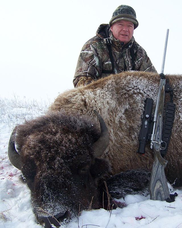 Prairie Sky Game Ranch Buffalo Hunting