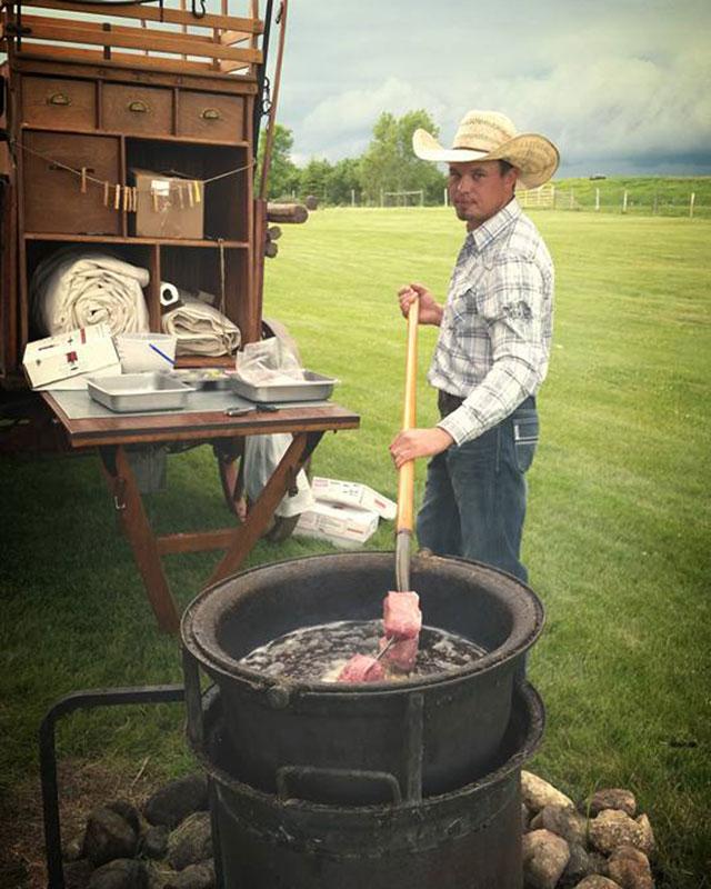 Pitchfork Steak Fry at Prairie Sky Ranch